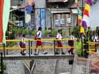 BPBD Kota Ambon Mengembangkan Komunitas Sekolah Sungai