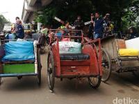 Becak Siap Mengaspal Jakarta Lagi