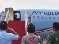 Presiden Joko Widodo Meresmikan Tol Dan Bagikan Sertifikat Tanah di Jawa Tengah