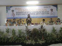 Airin Sampaikan Capaian Pembangunan Di Kecamatan Pondok Aren