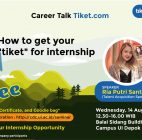 Career Development Center Universitas Indonesia (CDC UI) Gelar Career Talk