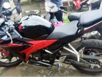 Kepergok Warga Saat Mencuri Sepeda Motor, Edi Ditangkap Polisi Di Pondok Aren