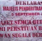Majelis Penderitaan Rakyat (MPR) dideklarasikan. Babe Aldo: Untuk Menyadarkan Rakyat!