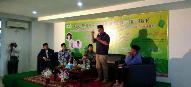Anies Baswedan: Tahun Depan Insya Allah Kita Halal Bihalal di Monas