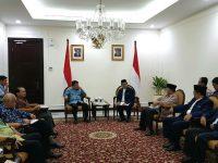 Adakan Silatnas Dai Se-Indonesia 2018: Pengurus Pusat Ikatan Dai Indonesia Beraudiensi Dengan Wapres
