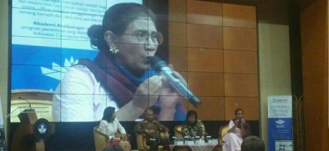 Indonesia Corruption Watch launching Akademi Anti Korupsi