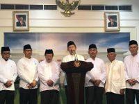 Jokowi Saat Bertemu Ulama Kepri Diminta Terus Berantas Narkoba