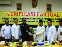 KPUD Banten: Penuhi Quota 30% Perempuan, PKS Provinsi Banten Lolos Verfikasi Berkas