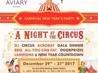 Rayakan Akhir Tahun dengan Suasana Karnaval Sirkus Hanya di Aviary Bintaro