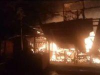 Kebakaran di Situ Bulakan Diduga Karena Gas Meledak