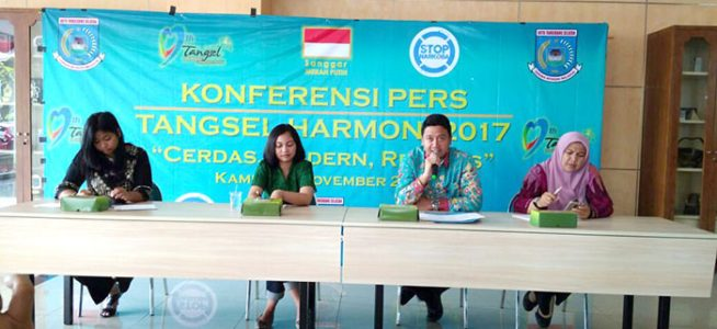 """Sanggar Merah Putih dan Pemkot Rayakan Hari Jadi ke-9 Kota Tangsel Melalui """"Tangsel Harmoni 2017"""""""
