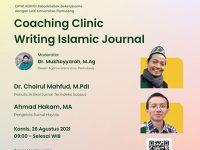 LKK-UNPAM , ADPISI dan MTT Gelar Coaching Clinic Writing Islamic Journal