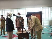 Lantik Pejabat Dimasa Pilkada, Airin Dilaporkan Pemantau Pilkada Perkota Nusantara
