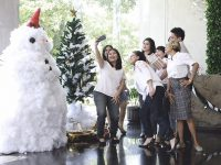 White Christmas di Hotel Aviary Bintaro  Menjadi Momen Romatisme Bersama Keluarga