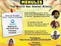Dosen Agama Unpam Menggelar Workshop Menulis Bagi Generasi Milenial