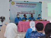 Mahasiswa FH Unpam Gelar PKM Berikan Edukasi Tentang Hukum Pada Masyarakat di Kelurahan Ciater