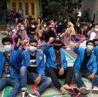 PKM Mahasiswa Fakultas Hukum Universitas Pamulang Sosialisasikan Keselamatan Berkendara Sesuai Undang-Undang Nomor 22 Tahun 2009 di Cipocok Jaya, Serang
