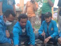 Mahasiswa Teknik Mesin UNPAM Gelar Sosialilasi Uji Hasil Pengelasan SMAW Di Perumahan Sukamanah Rajeg Tangerang