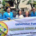 PKM Mahasiswa Unpam Sosialisasikan Perawatan Kendaraan Roda Dua di Pondok Aren, Tanggerang Selatan