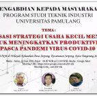 StrategiUKM Tingkatkan Produktivitas Pasca Pandemi Virus Covid19