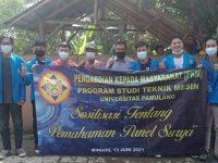 Mahasiswa Teknik Mesin Unpam Sosialisasikan Pemahaman Tentang Panel Surya Melalui PKM di Ciomas Tenjo, Bogor