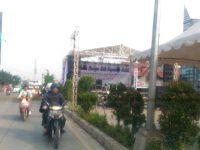 Pagelaran Budaya Kota Tangsel Tutup Jalan Siliwangi