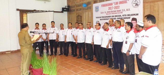 Resmi Dikukuhkan, LBH Unggul Siap Bekerjasama Untuk Advokasi Rakyat Kecil