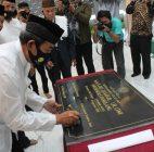 Dibangun Megah, Unpam Resmikan Masjid Darul Ulum Sekaligus Pemotongan Hewan Qurban