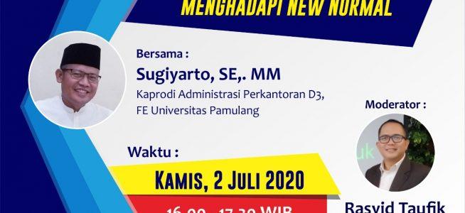 Prodi D-III Administrasi Perkantoran Unpam Gelar Seminar Growth Mindset Menghadapi New Normal