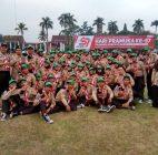 Pramuka SMPIT Auliya Sambut Presiden RI Pada HUT Pramuka ke -57