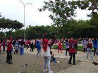 Asiknya Menikmati Car Free Day di Perumahan Southcity