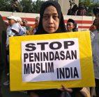 Solidaritas Untuk Muslim India, Umat Islam Demo di Kedubes India