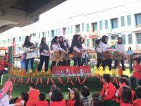 Meriahnya Perayaan Hari Ibu di TBM Kolong Ciputat
