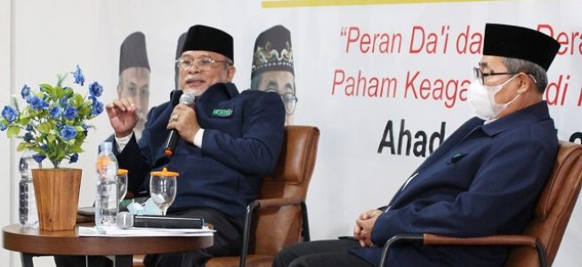 Kerjasama BNPT-IKADI, Ahmad Nurwakhid: Terorisme dan Radikalisme adalah Musuh Semua Agama