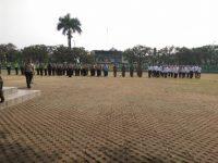 Antisipasi Gangguan Keamanan, Apel Gabungan Tiga Pilar Digelar di Pamulang