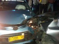Kecelakaan Antara Taksi dan Nissan, Satu Orang Tewas