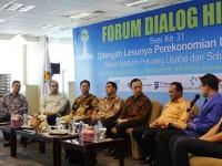 Ikut Prihatin Ekonomi Dalam Negeri, Dua Menteri Ini Hadir Dialog Penguasaha HIPMI
