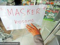 Dinas Tangsel Memantau Persediaan Masker di Tangerang Selatan