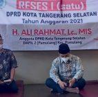 Reses DPRD Tangsel, Ali Rahmat: Saya Punya Konsep Tangani Banjir!