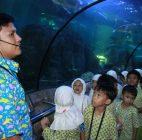 Siswa SDIT AULIYA, Kenali Biota Air Laut dan Tawar Indonesia